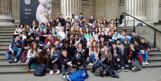 Collège - Angleterre 2015