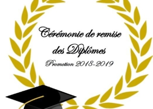 image affiche remise diplome